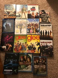 Assorted DVD's and Blu Ray