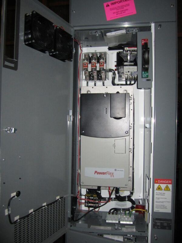 New Allen Bradley 2163qa Vfd 40hp Mcc Powerflex 70 20ad052a0aynanc0