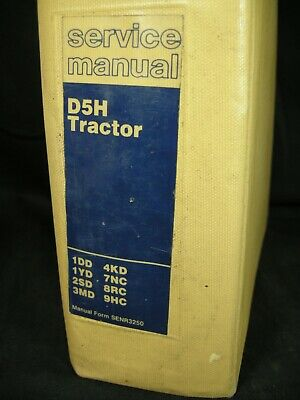 Cat Caterpillar D5h Tractor Shop Service Repair Manual 1dd 1yd 2sd 3md 4kd 7nc