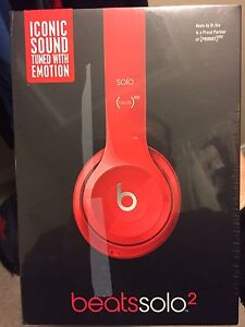 Beats by Dre - Red & never opened  Kitchener / Waterloo Kitchener Area image 2