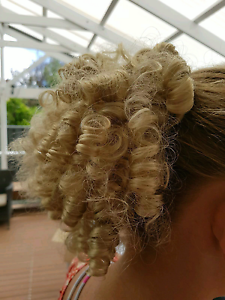 Blonde curly ponytail wig / hairpiece Lockleys West Torrens Area Preview