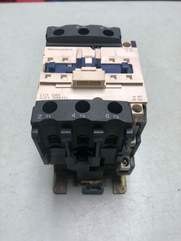 TELEMECANIQUE/SCHNEIDER LC1 D65 80A CONTACTOR  30 DAY WTY FREE SHIPPING