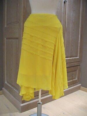 Nieuwe InWear rok / skirt in gele kleur met kraaltjes