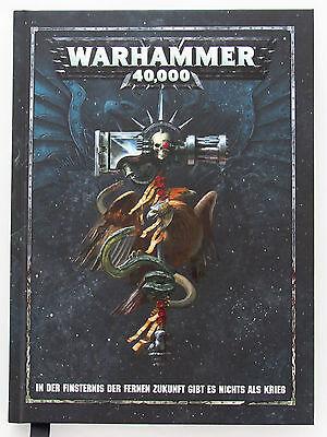 Warhammer 40k Regelbuch 8. Edition (Deutsch) | Dark Imperium | Warhammer 40k