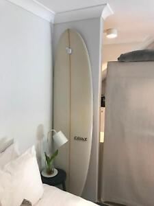 Mini malibu surfboard