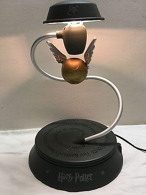 Rare Harry Potter Levitating Snitch Desk Lamp / Hallmark