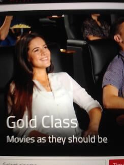 Event Cinema 2 Gold Class Tickets Monday To Thursday in September