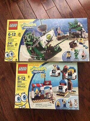 2 NEW Lego SpongeBob 3816 & 3817 , SEALED!