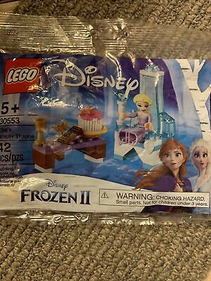 Lego 30553 Disney Frozen 2 Elsa's Winter Throne New Sealed 42 pieces