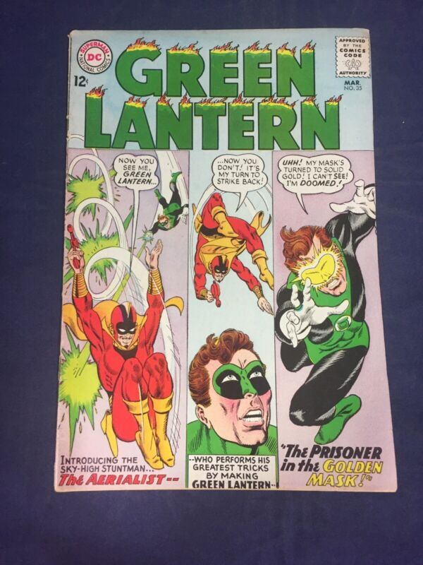 GREEN LANTERN 35 1965 HIGHER GRADE