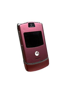 Motorola RAZR V3 - Pink (Unlocked) Mobile Phone