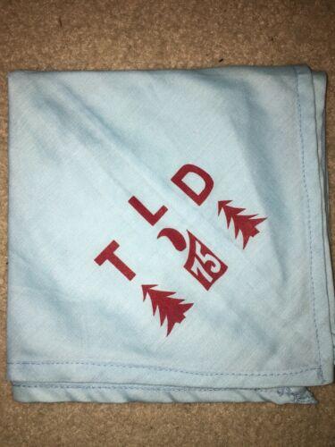 Boy Scout BSA Troop Leader Development TLD 75 1975 Pine Tree Council Neckerchief