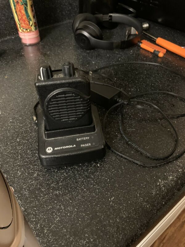 Motorola Minitor V Pager  - VHF 2 Channel Pager with Stored Voice