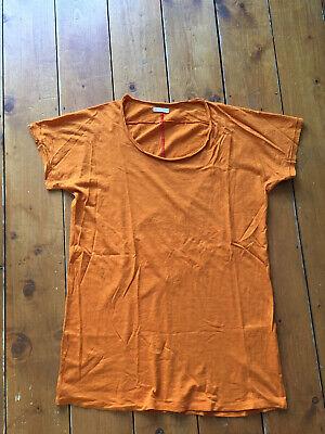 HOMECORE Crew Neck Orange T-shirt XL