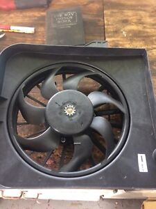 Dodge Caravan cooling fan