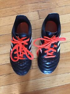 Youth size 13 indoor soccer shoes