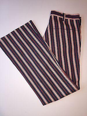 Men's VINTAGE LEE Fastbacks, Striped Mod Pants, Size: 33 x 33