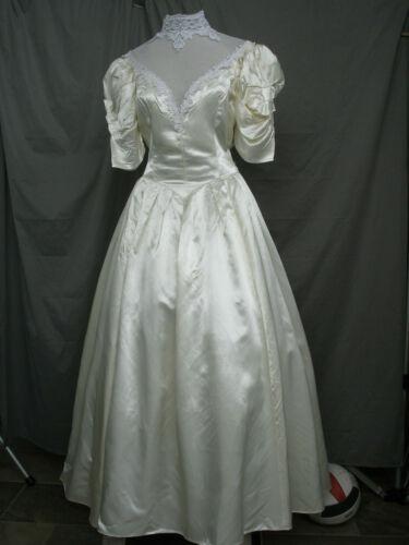 Victorian Dress Style Edwardian Wedding 1950s Vintage