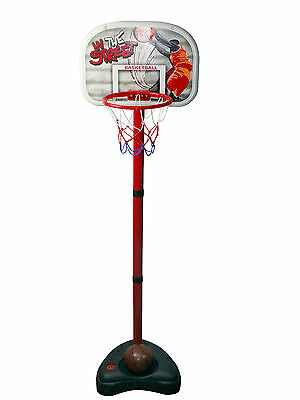 Childrens, Kids, junior free standing basketball set, stand, backboard, hoop