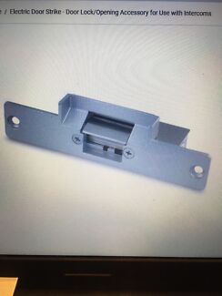 12 V electric door strike for intercom