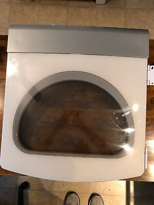0-whirlpool (Model WED6400SW0 Whirlpool residential dryer complete door 30 DAY WTY Free Ship)