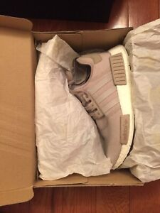 Adidas NMD R1 OG colour Nude/ Vapour Grey/ White