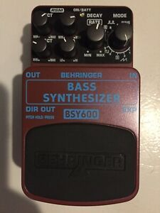 Behringer BSY600 Bass Synthesizer Pedal