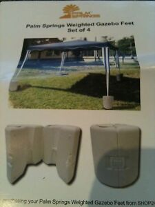 Weighted Gazebo Feet,Set of 4,New,bought in error Seaford Frankston Area Preview