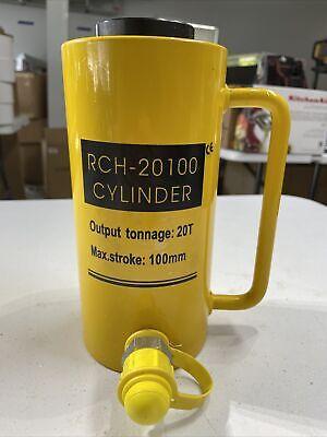 Hollow Rch-20100 Cylinder Hydraulic Jack 20t Tonnage 100mm Max Stroke