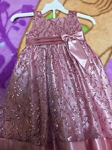 Gorgeous toddler Christmas dress size 04 like new worn once