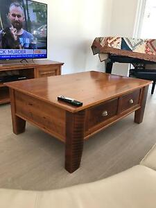 Rosebank Cottage Timber Coffee Table Ashmore Gold Coast City Preview