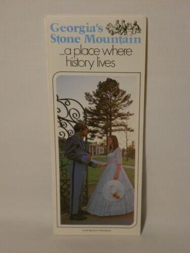 Vintage Stone Mountain Georgia Travel Brochure *FREE SHIPPING*