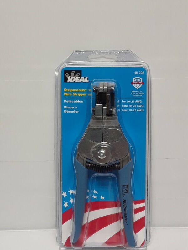 Ideal 45-292 Stripmaster 10-22 AWG Wire Stripper #2927