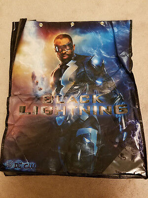 SDCC 2017 Comic Con Exclusive WB Tote Bag Black Lightning Halloween - Halloween 2017 Comic Con