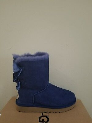Ugg Australia  Women's Bailey Bow II Velvet Ribbon Boots  Size 5 NIB