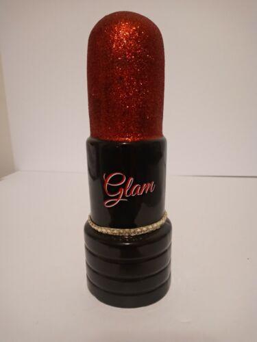 Glam Lipstick Ceramic Piggy Bank