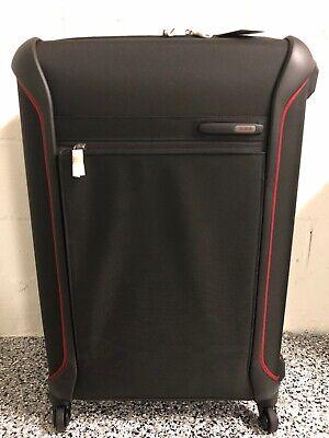 NEW Tumi Dark Black/Red Lightweight Large Trip Packing Case Luggage Bag #283527 - Large Trip Packing Case
