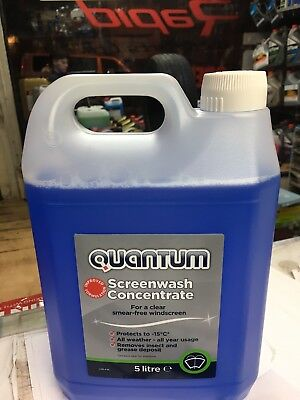 QUANTUM SCREENWASH SCREEN WASH - FINE SPRAY JETS 5 LITRE
