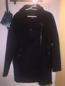 Black forever 21 winter coat