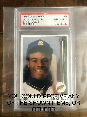 1989 Upper Deck Ken Griffey Jr PSA 10 chase packs! READ LISTING FIRST!