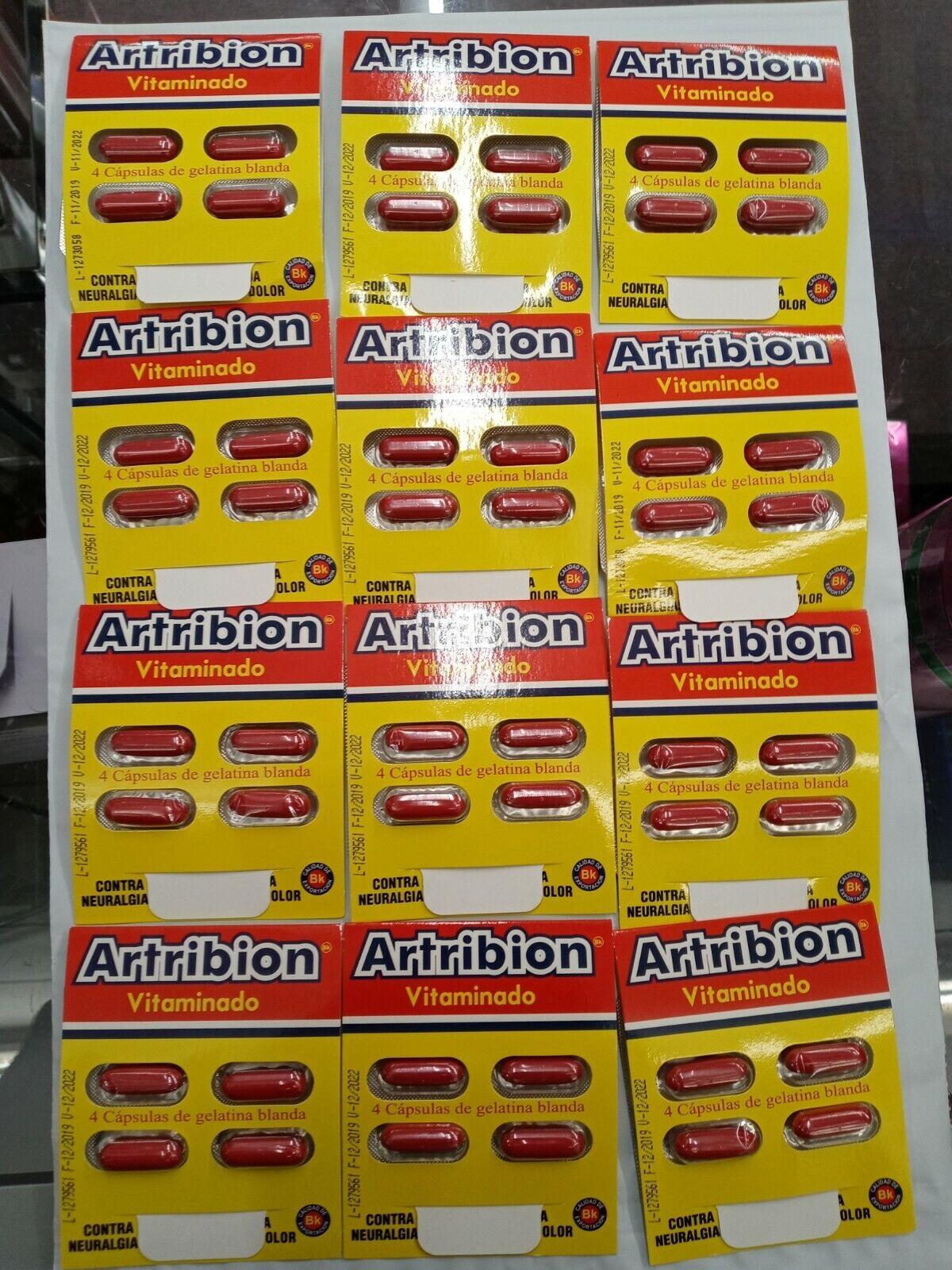 ARTRIBION VITAMINADO 12 SOBRES (48 CAPSULAS ) SIN CAJA