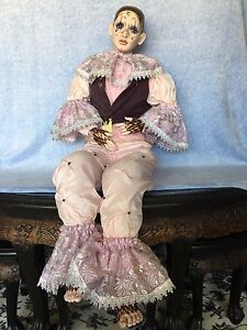 Porcelain  Pierrot Doll Kewdale Belmont Area Preview