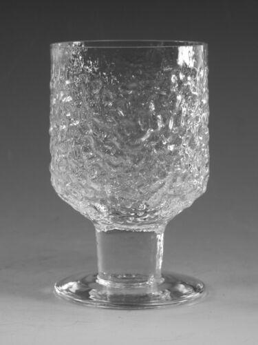 "WHITEFRIARS Glass - EVEREST Pattern - Wine Glass / Glasses - 4 1/8"""