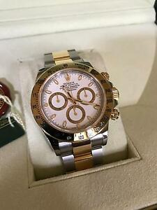 Rolex twotone Daytona white dial Norwood Norwood Area Preview