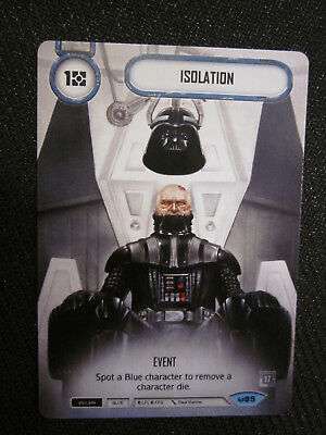 Star Wars Destiny Isolation x2 Q4 Full Alternate Art PROMOS - FFG