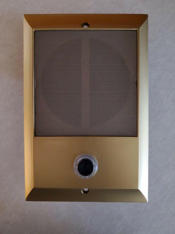 M&S Refurbished Gold Door Intercom Speaker