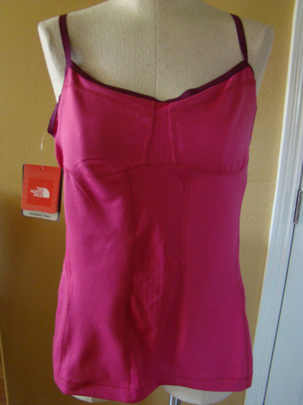 New with Tags THE NORTH FACE Performance /Yoga Balance Tank Razzle Pink Large