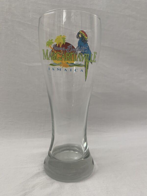 """NEW - Jimmy Buffett Margaritaville - Pilsner Beer Glass - Weighted Bottom 8.5"""""""