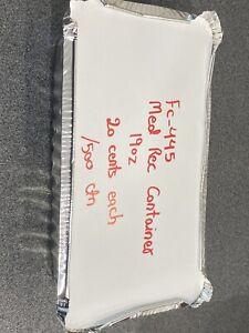 Medium rectangle foil container 19oz 1.1 kg Underwood Logan Area Preview
