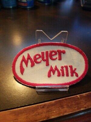 Milk Man Uniform (Vintage New Old Stock 1960s Uniform Patch Meyer Milk Delivery)